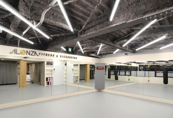 ALONZA fitness & kickboxing フィットネス アンド キックボクシングGYMの内装?外観画像