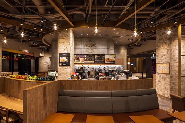 TULLY'S COFFEE アトレ竹芝 カフェの内装?外観画像