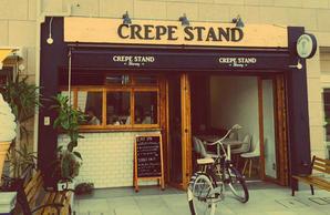 CREPE STAND HONEY クレープ カフェの内装?外観画像