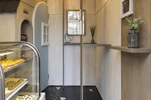 ウチヤベイクショップナカノシマミナミボワメゾン 焼き菓子屋の内装?外観画像