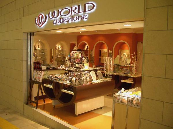 WORLD collezione Wing KURIHAMA Accessory Shopの内装・外装画像