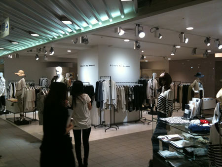 BLACK by moussy shinjuku isetan