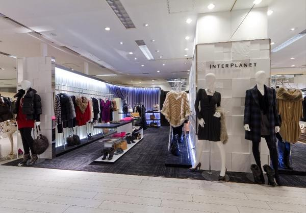 INTERPLANET / actuel 新宿タカシマヤ店