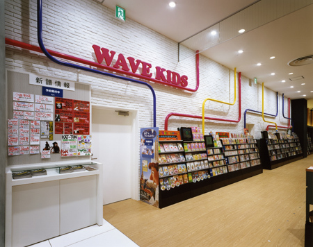 WAVE 店舗展開