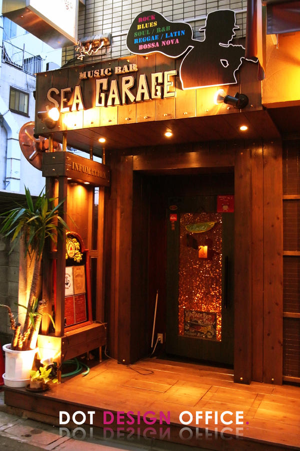 MUSIC BAR 【SEA GARAGE】