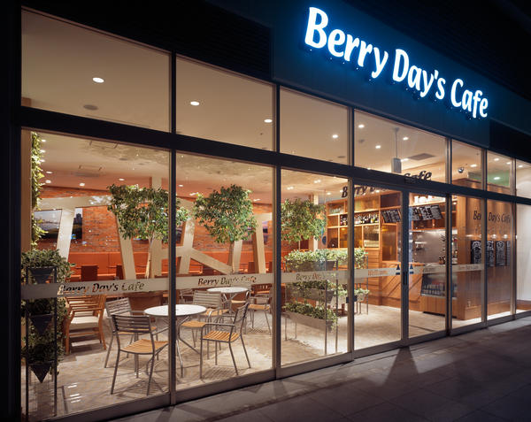 Berry Day's Cafe カフェの内装・外装画像
