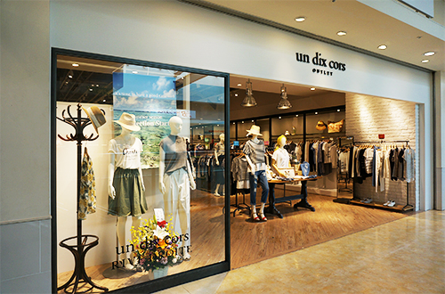 un dix cors OUTLET 幕張店 ブティックの内装・外装画像