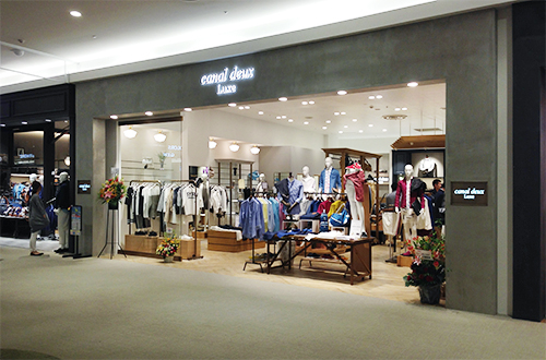 canal deux Luxe 越谷レイクタウン店 セレクトショップの内装・外観画像