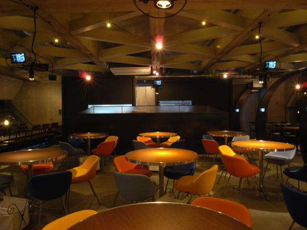 amusement cafe/ blue cherry