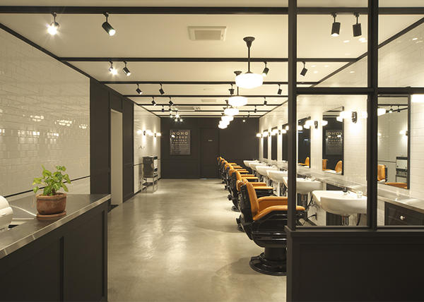 NOBLE TOWN MISHIMA BARBER SHOPの内装・外装画像
