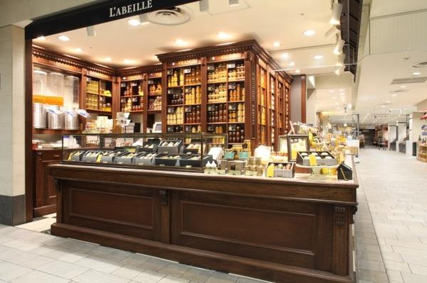 L`ABEILLE 名古屋店 はちみつ専門店の内装・外装画像
