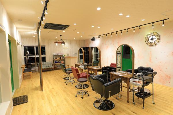 hair salon Rien 鴻巣店