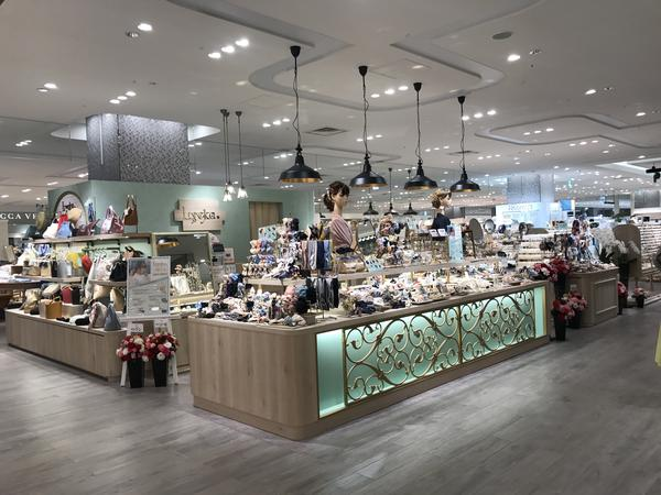 Lycka 名古屋タカシマヤゲートタワーモール ファッションアクセサリーの内装・外装画像