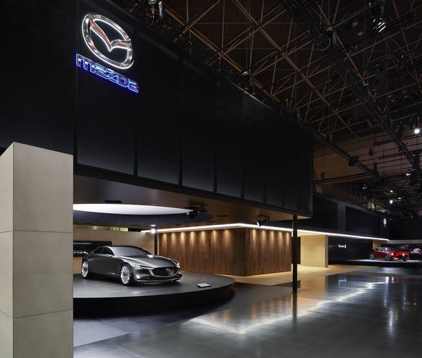 TOKYO MOTOR SHOW 2017 MAZDA BOOTH 展示会の内装・外観画像