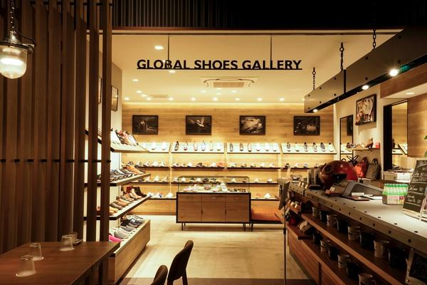 GLOBAL SHOES GALLERY & VULCA CAFE