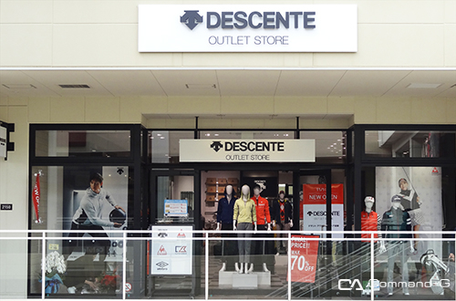 DESCENTE OUTLET STORE 三井アウトレットパーク倉敷店 アパレルの内装・外観画像