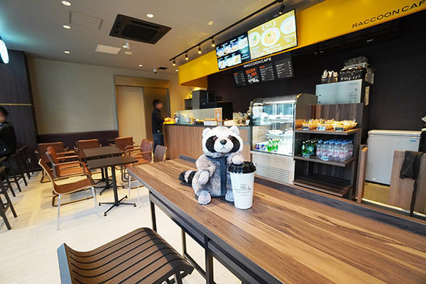 Raccoon Cafe 宝町店