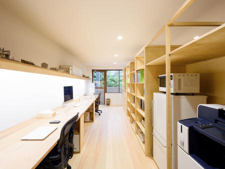 STUDIO RAKKORA ARCHITECTSの社内風景